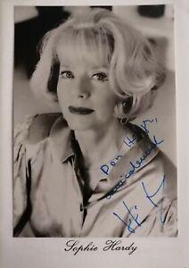 Original Autogramm von SOPHIE HARDY  - Winnetou - Edgar Wallace - RAR !!!