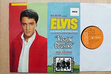 LP ELVIS PRESLEY-Kissin 'Cousins-German RCA ORANGE M -