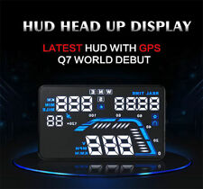 Durable 5.5inch Car HUD Head Up Display GPS Fuel Consumption Speedometers Show