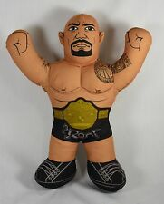 Mattel WWE The ROCK Talking Wrestling Brawlin' Buddies Plush Pillow Toy Figure