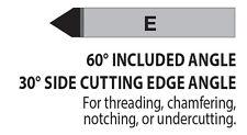 "E-5 5/16"" Diameter 30° Side Cutting Carbide Tipped Tool Bit C5/C6 Lexington USA"