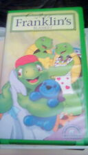 Franklin - Franklin's Blanket small clamshell VHS animation turtle 2 cartoons