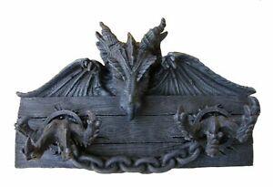 Schlüsselbrett Drache 31 cm Gothic Dragon Schlüsselkasten
