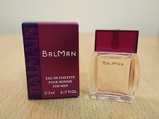 BalMan by Balmain for Men EDT 5 ml MINI MINIATURE PERFUME FRAGRANCE New