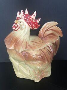 Vintage McCoy Rooster Cookie Jar 1956