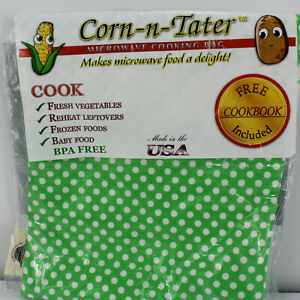 Corn n Tater Microwave Cooking Bag with Cookbook