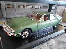 CITROEN SM Maserati V6 Coupe green grün met 1971 NEU Norev 1:18