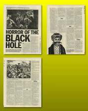 The Horror Of The Black Hole Of Calcutta Old Article