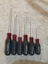 Crescent Slotted Mechanic Round Screwdriver Set Phillips And Flat Head