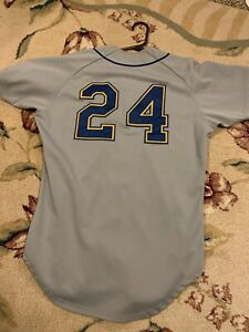 90's GAME WORN Wilson Brevard County? Mariners Jersey #24 Griffey Jr. Milb