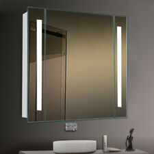 LED Light Strip Illuminate Bathroom Cabinet Mirror Sensor Demister Shaver Socket