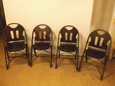"""Louis Rastetter & Sons - """"SOLID KUMFORT"""" -  SET of 4 FOLDING CHAIRS, 1920's"""