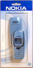 Original New Nokia 3310 3330 SKR-82 Polar Blue Xpress-on Front and Back Cover