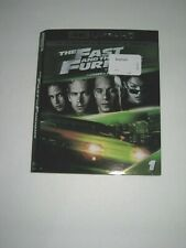 The Fast and the Furious (4K Ultra HD slip cover only)No Disc No Blu Ray