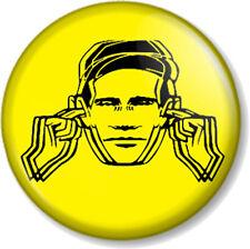 "Factory Records Hacienda 1"" 25mm Pin Button Badge Manchester Club Label 1980s 4"