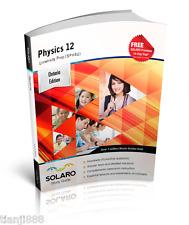 SOLARO Study Guide - Ontario Physics 12 - University Preparation (SPH4U)