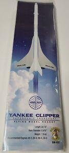 Yankee Clipper Flying Model Rocket Kit n/a Estes Deep Space Transport NEW SEALED