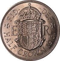 1967 HALFCROWN UNCIRCULATED 51st birthday souvenir coin present a free gift box