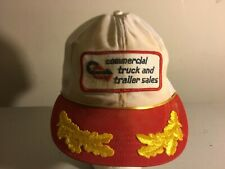 Vintage Commercial Truck and Trailer Sales Adjustable Snapback Hat