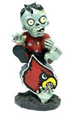 Louisville Cardinals Zombie Figurine On Logo with Football