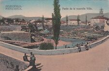 * WWI - Podgoritza Podgorica Montenegro - Ville 1918 K.u.k.Feldpostamt 257