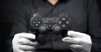 Official SONY Playstation 3 Wireless Controller Black - 'The Masked Man'