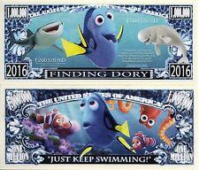 Finding Dory - Disney Movie Character Million Dollar Novelty Money