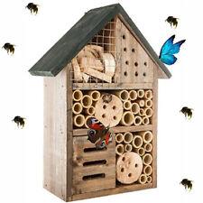 Hôtel à Insectes - abri refuge nichoir maison abeille papillon coccinelles