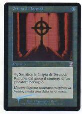 MTG Italian Foil Tormod's Crypt Timeshifted EX-/EX
