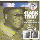 CLARK TERRY CD WHAT A WONDERFUL WORLD