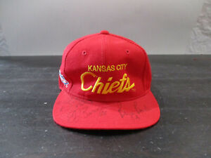 VINTAGE Kansas City Chiefs Hat Cap Snap Back Sports Specialties Script Men 90s