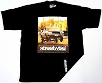 STREETWISE BOUNCE T-shirt Urban Streetwear Tee Men M-4XL Black New