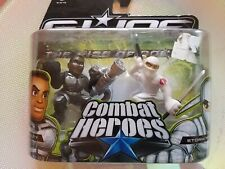 Hasbro gioco Combat Heroes-HEAVY DUTY,STORM SHADOW Ages 3+ da collezione