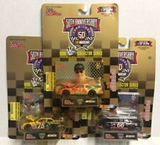 (3) Racing Champions 1:64 Scale 50th Anniversary '98 Collector Series NASCAR