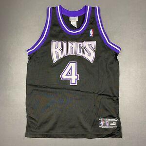 100% Authentic Chris Webber Puma Sacramento Kings Jersey Size 40 M Mens
