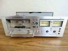 OPTONICA RT-1515 CASSETTE DECK SERVICED DOLBY MICRO CRYSTAL FERRITE HEADS PARTS!
