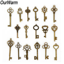 17x Wedding Favor Vintage Old Key Gifts for Guests Baptism Party Souvenir Decor