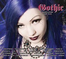 GOTHIC 43 2CD Nightwish SARA NOXX Metallspürhunde X-RX