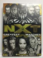 WWE: NXT's Greatest Matches, Vol. 1 (DVD,2016,3-Disc Set) New Factory Sealed!