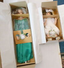"Ashton-Drake ""Winter Romance Wedding Party"" 2- DOLL SET -Sandra-Bilotto"