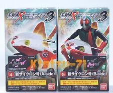 SHODO-X Masked Rider Kamen Rider Vol.3 Action Figure New Cyclone set BANDAI