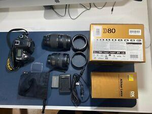 Nikon D80 Kit -Digital SLR Camera + AF 18-70mm + AF 70-300 mm Tamron
