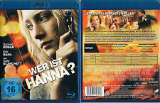 WER IST HANNA? --- Blu-ray --- Actionthriller --- Saoirse Ronan --- Uncut ---
