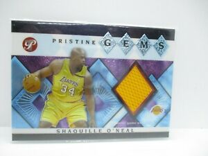 2003-04 Topps Pristine Gems Relics #SO Shaquille O'Neal E LAKERS