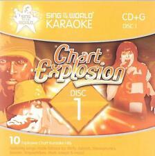 cd  karaoke CD-G Mcfly u2 stereophonics kylie minogue jennifer lopez KARAOKE