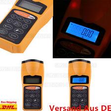 LCD Laser Messer Distanzmesser Lasermessgerät Entfernungsmesser Ultraschall CPHX