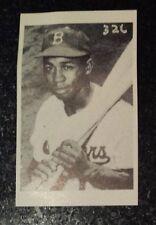JUNIOR GILLIAM - LOS ANGELES DODGERS 1955 Sport Magazine Fan Club Mail In card