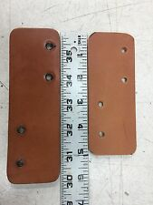 2 NEW Pipe Organ Kinetic Blower Leather Coupling Straps  New Shorter length