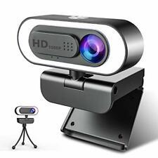 1080P Webcam Ringlicht NIYPS Full HD Web Camera mit Mikrofon für PC/Laptop