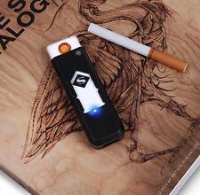windproof smokeless flameless lighter electric USB